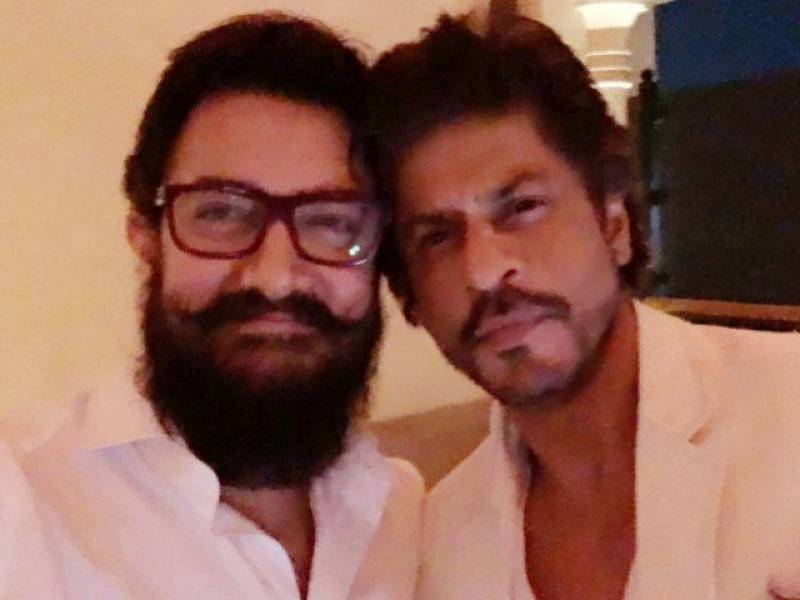 Two big Khans' first selfie in 25 years