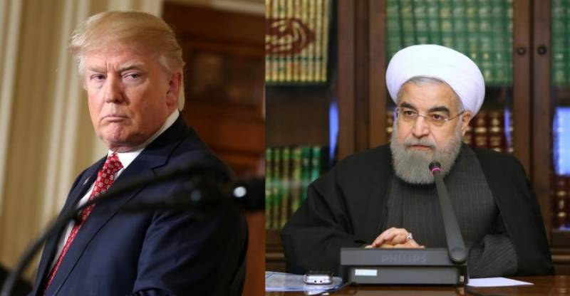 U.S. president warns Iran's Rouhani to ´better be careful´