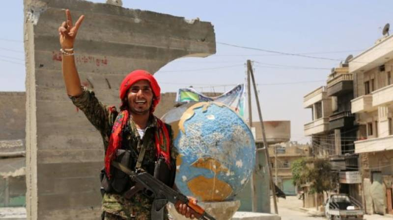 ISIS Daiesh stronghold taken over by Turkish troops