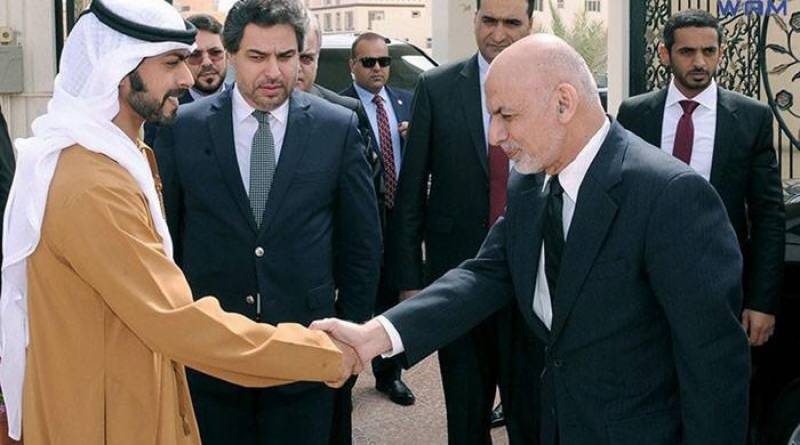 Afghan President Ghani meets Abu Dhabi Prince