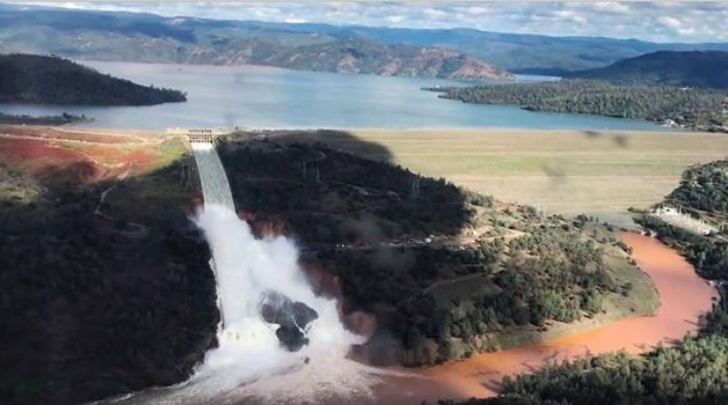 Urgent evacuations ordered below damaged California dam