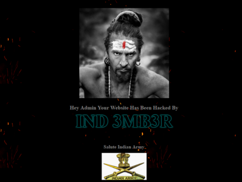 """Lahore Dist. Govt. Official website hacked by """"Indian Hackers"""""""