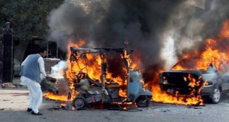 Suicide bomber attacked civil judges vehicle, driver dead fifteen injured