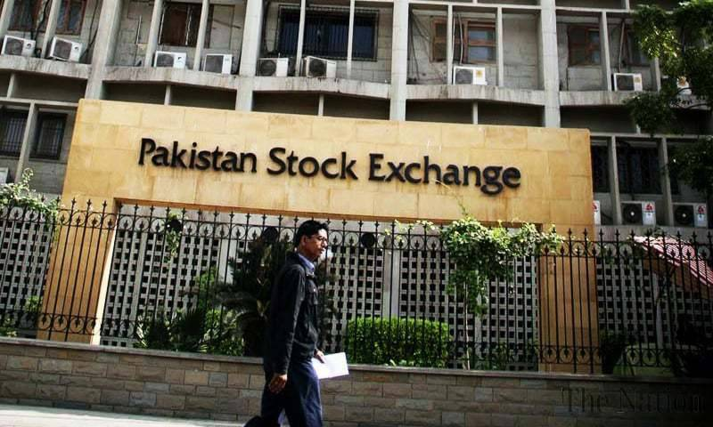 KSE-100 index sheds 554 points on heavy selling