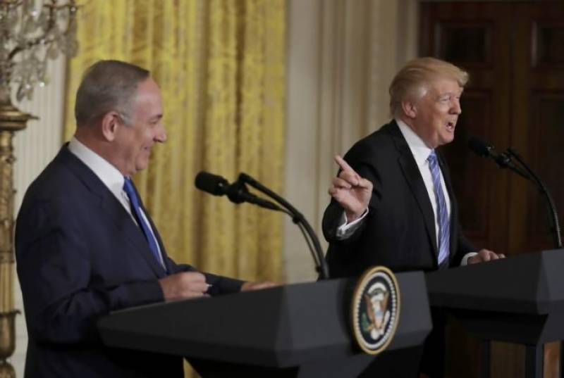 Trump backs away from commitment to Palestinian state