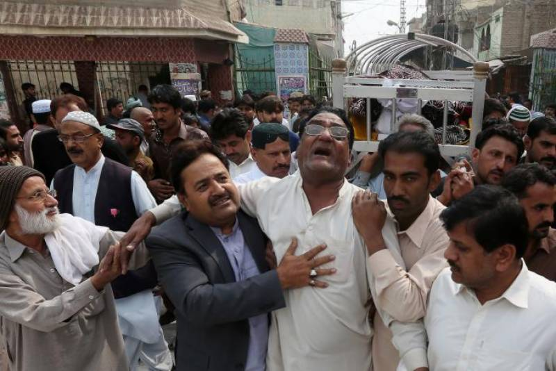 Wailing, anger at Lal Shahbaz Qalandar shrine after bomber kills 77