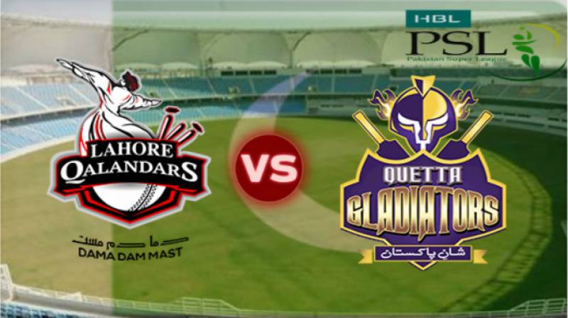 Quetta Gladiators defeat Lahore Qalandars in a thrilling match