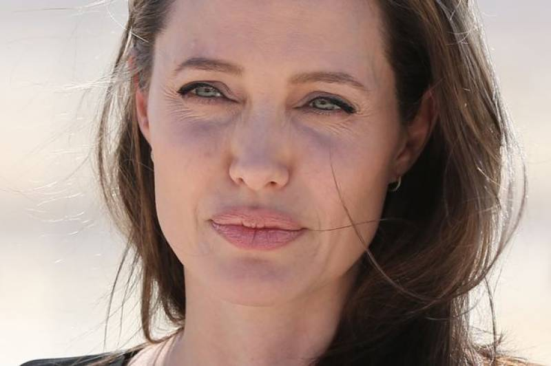Angelina Jolie unveils Khmer Rouge film in Cambodia