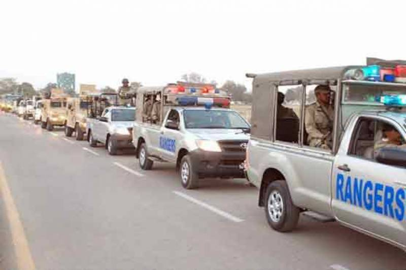 Federal government allows Rangers' deployment in Punjab