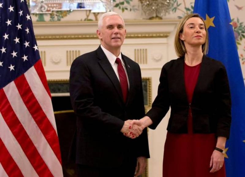 US seeks 'deeper' ties with EU: Mike