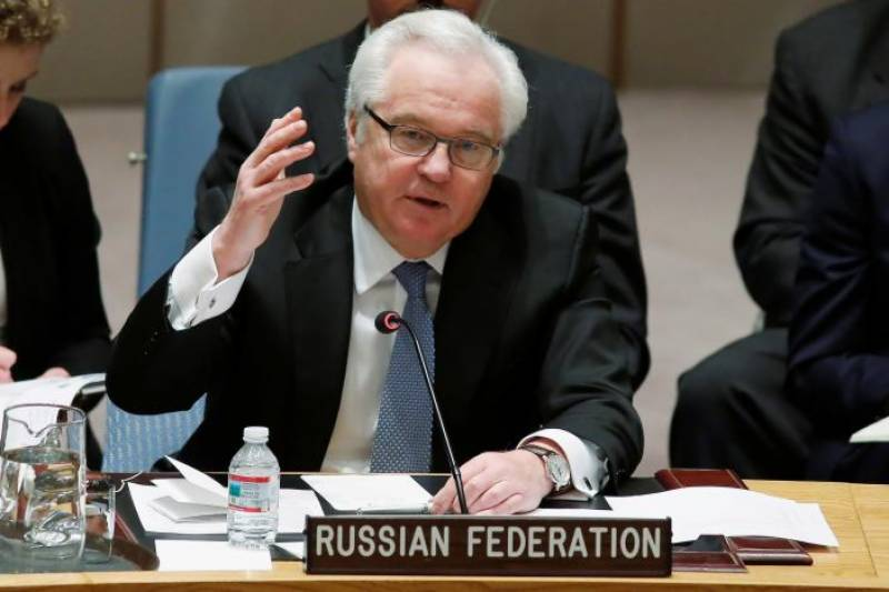Russia's UN envoy Churkin dies suddenly in New York