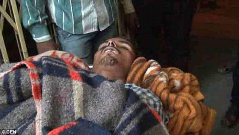 Teenager woke up during his funeral proceedings