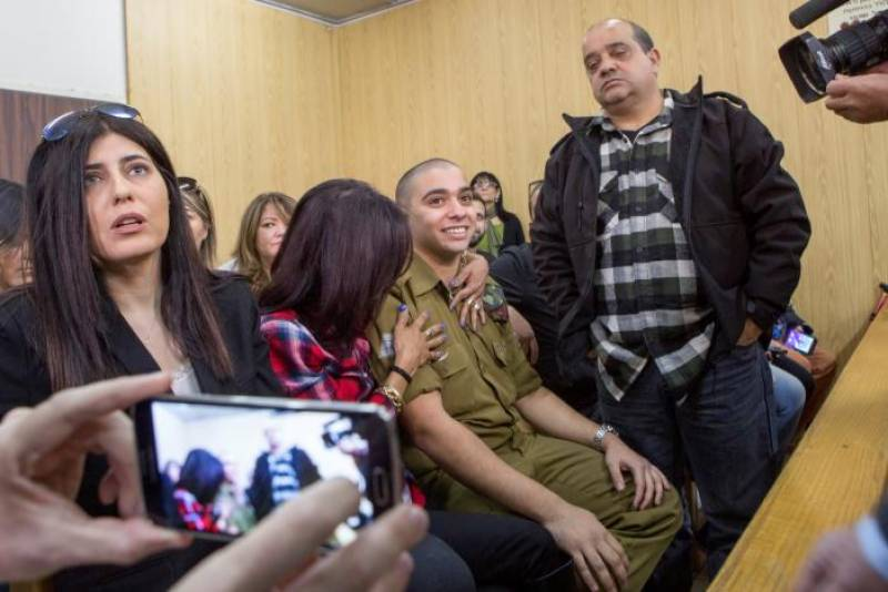 Israeli soldier gets only 18 months' jail for killing Palestinian