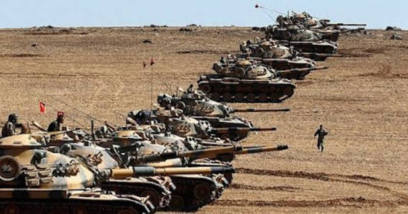 Turkey army claims killing 56 IS militants in Syria