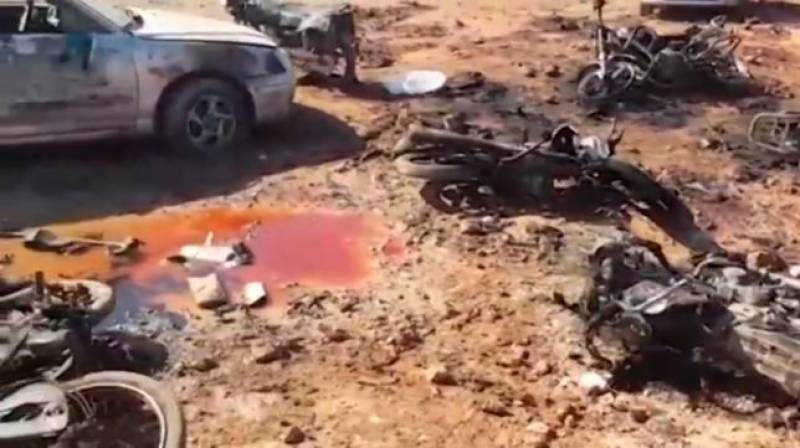 Car bomb on Turkey-backed Syrian rebels kills 41