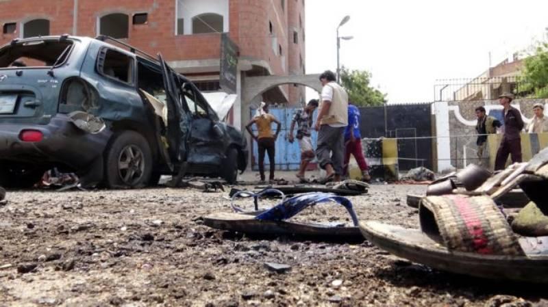 Suicide bomber kills eight soldiers in Yemen