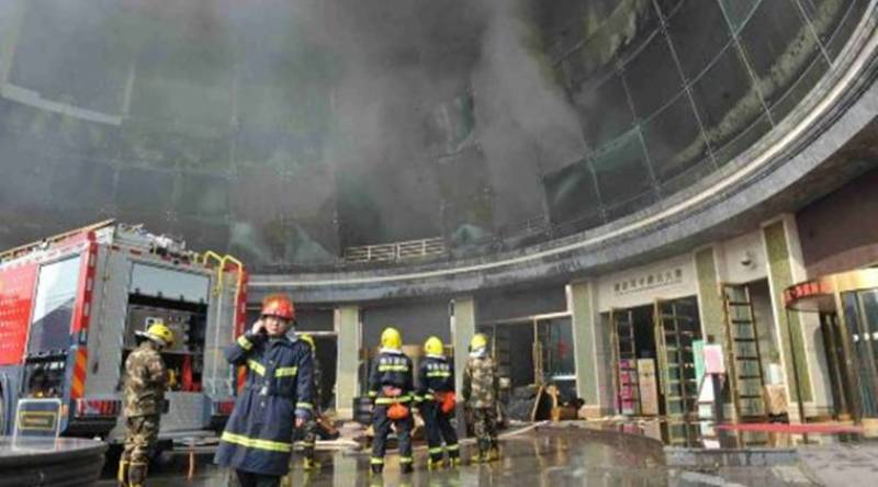 China hotel blaze claims 10 lives