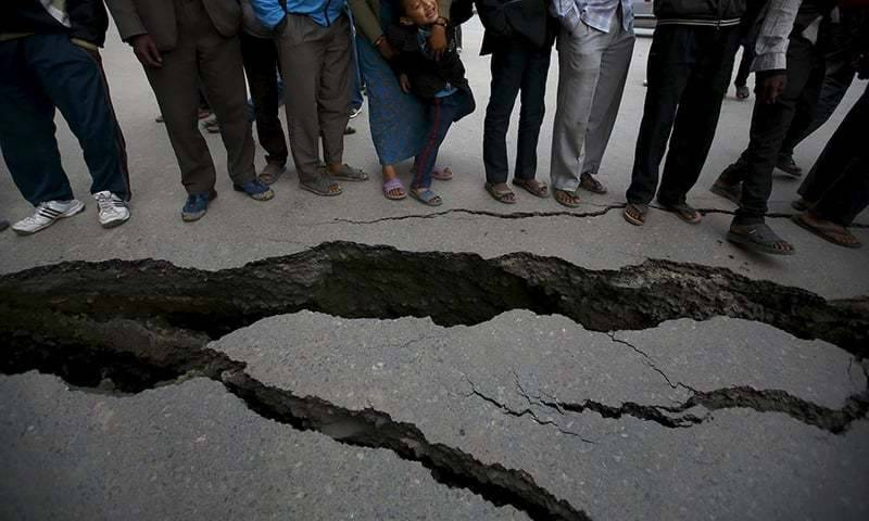 North Western Pakistan jolted with earthquake