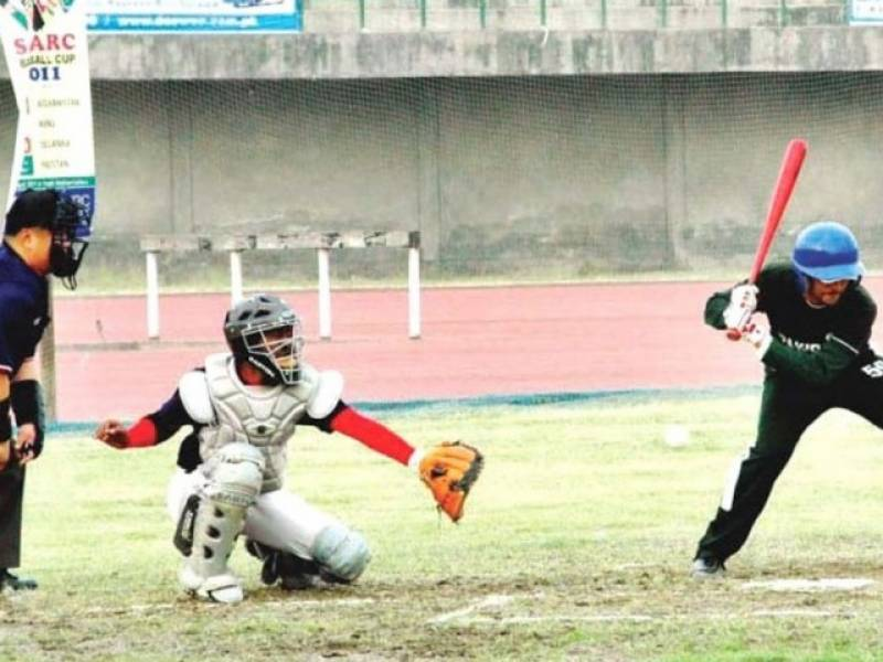 Four time West Asian champion Pakistan lost in baseball cup final