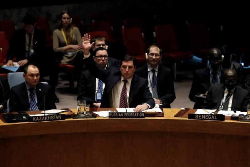 Russia, China block UN sanctions on Syria