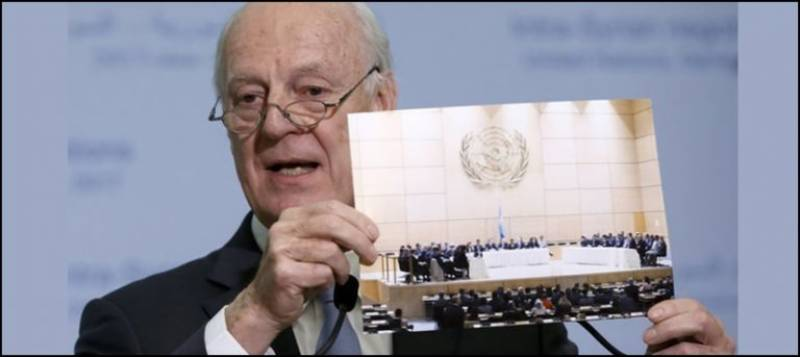 Syrian talks have agenda for drawing solution: UN