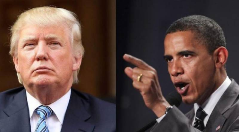 Obama wiretapped phone during campaign: Trump