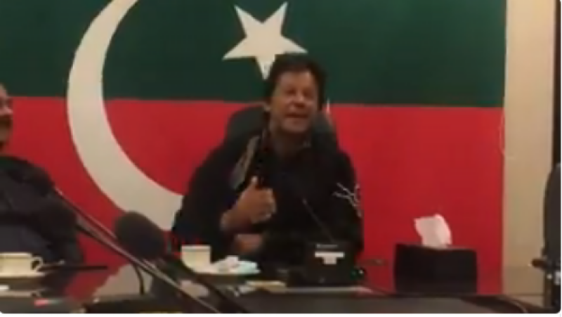 Imran Khan labels foreign PSL players lot 'Phateechar'