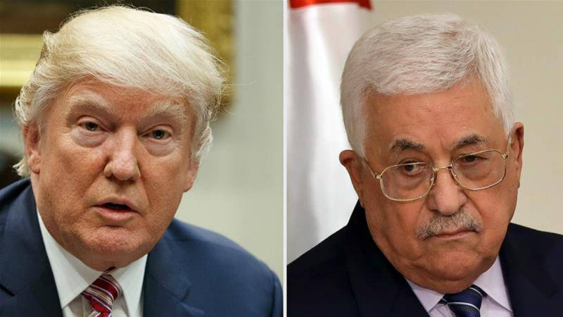 Trump invites Palestinian counterpart to White House