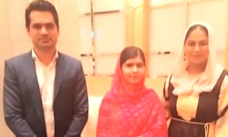 Malala comes forward to Mediate between Veena and Asad Khattak