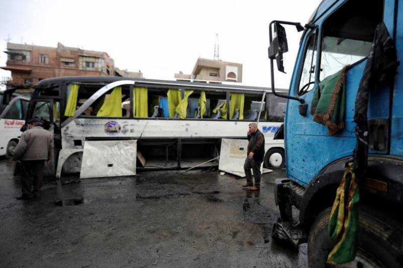 Hayat Tahrir al-Sham behind Damascus twin explosion