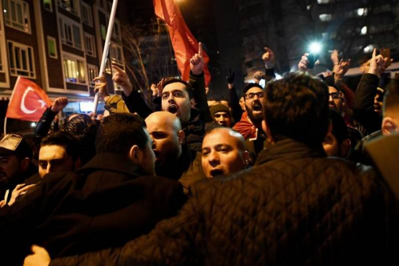 Turkey summons Dutch envoy to complain over Rotterdam police action: ministry sources