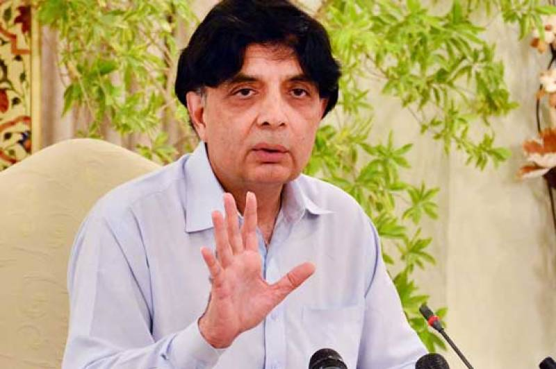 Revival of PIA tops Government priority List, Ch Nisar