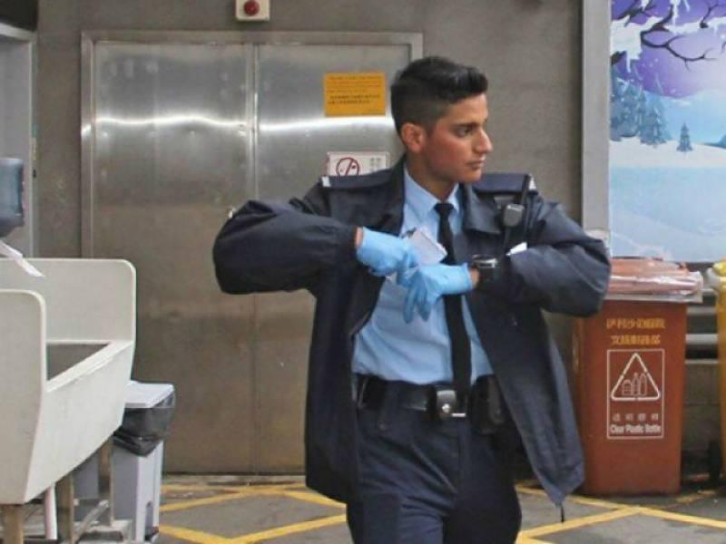 Pakistani policeman becomes Hong Kong hero