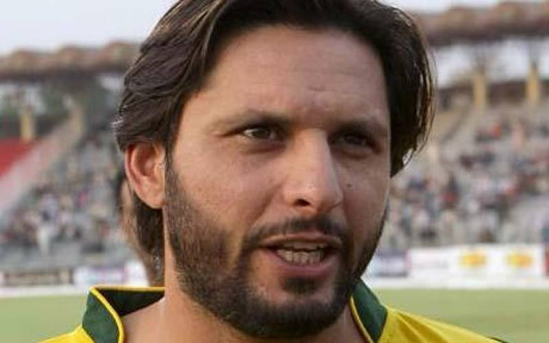 PBCC appoints Shahid Afridi ambassador of Blind CricketWorld Cup