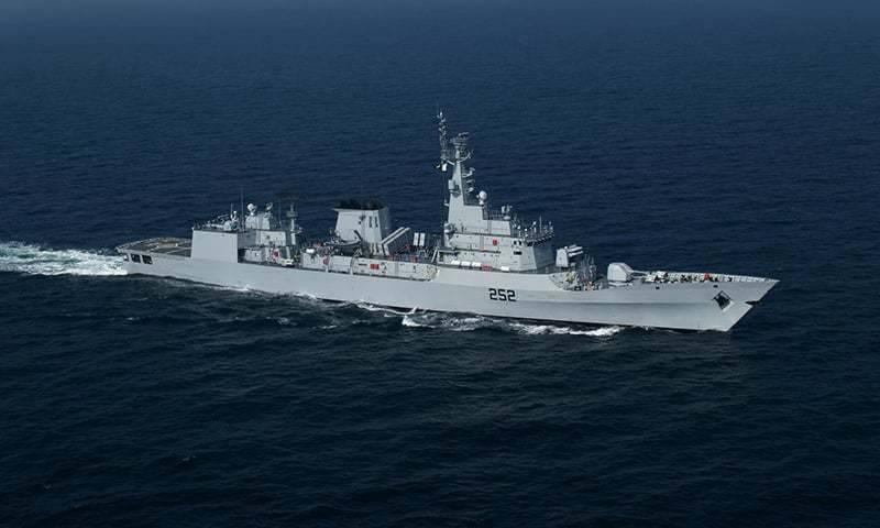 Pakistan Navy war ships visit Colombo port