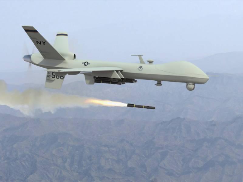 Two TTP commanders' killed in drone strike near Pak-afghan border