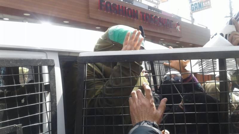 Kashmiri leader Farida Behanji arrested