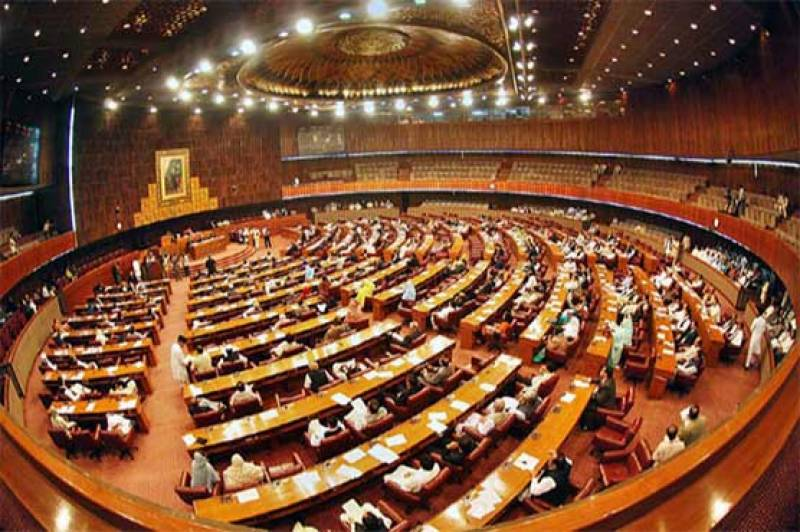 NA to discuss military courts extension bill today