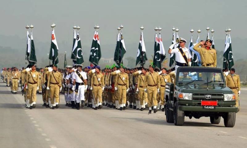 Full dress rehearsal for Pakistan Day Parade to take place today
