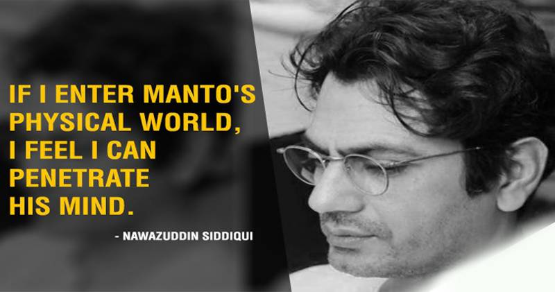 Nawazuddin to appear as Manto in his next film