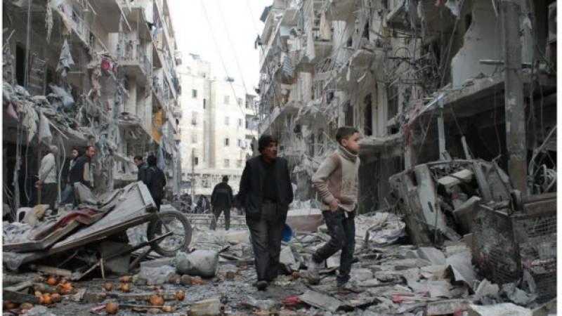 US-led air strike near Raqqa kills 33