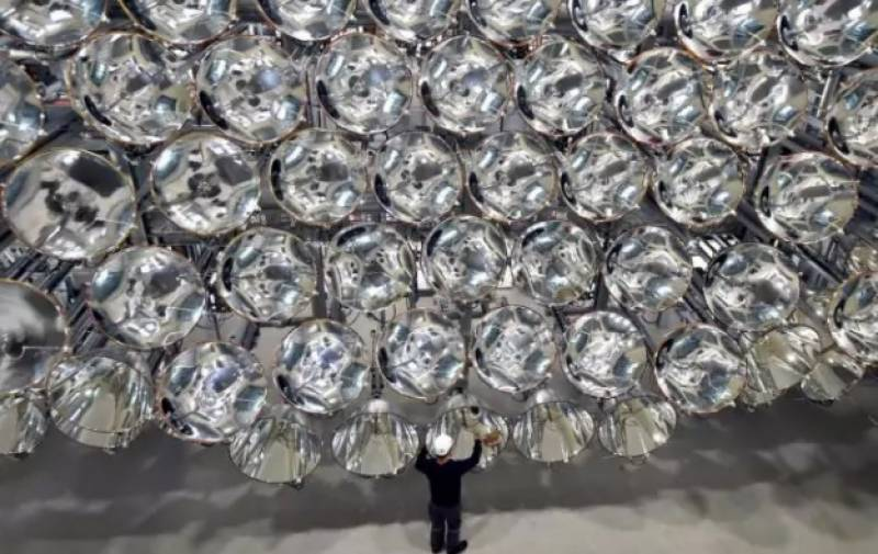 "From now on an ""Artificial Sun"" will shine in Germany"