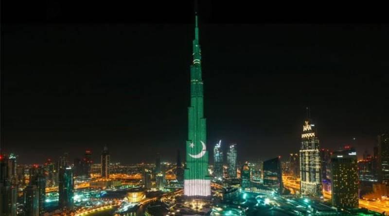 Green Burj Khalifa to rejoice Pakistan Day