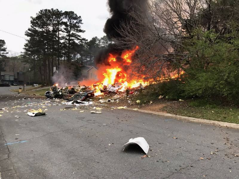 1 dead in Georgia plane crash