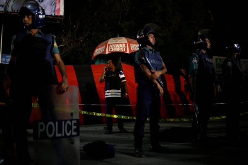 Man blows self up near Bangladesh airport