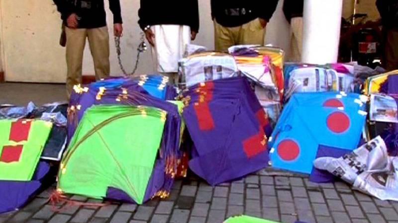35 kite flyers arrested in Crackdown