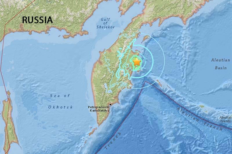 6.9 magnitude earthquake hits Russia's far East: USGS