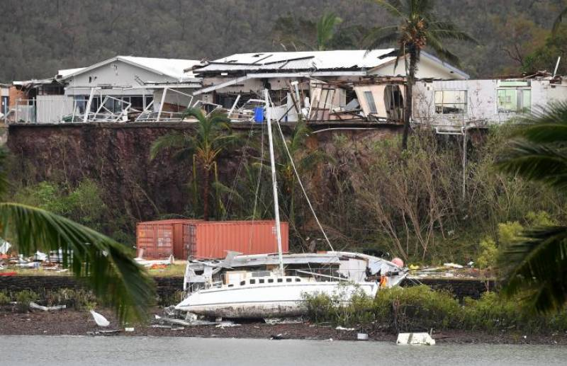 Army assesses damage after powerful cyclone lashes north Australia