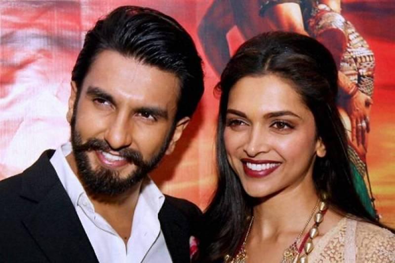 Ranveer, Deepika finally spotted together