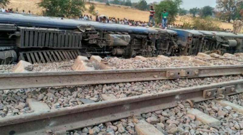 Dozens injured in northern India train accident